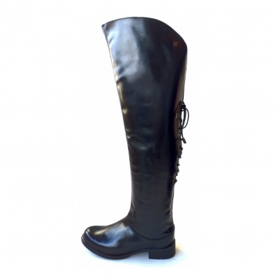 Bota Feminina Over the Knee de Couro 215